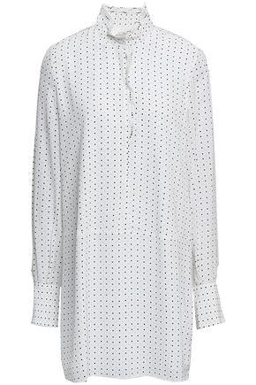 JOIE Polka-dot crepe mini dress
