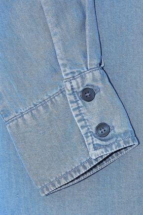 IRIS & INK Tencel-chambray shirt