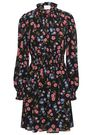 KATE SPADE New York Floral-print crepe mini dress