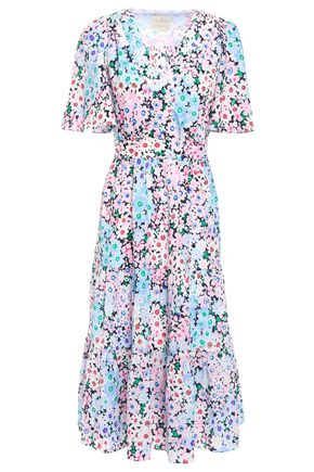 KATE SPADE New York Floral-print crepe dress