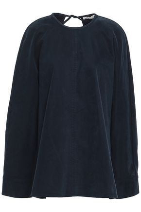 ACNE STUDIOS Cotton-blend sateen tunic