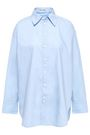 ACNE STUDIOS Oversized cotton-poplin shirt