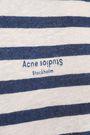 ACNE STUDIOS Printed slub linen-jersey T-shirt