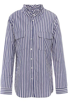 ANINE BING Striped cotton shirt