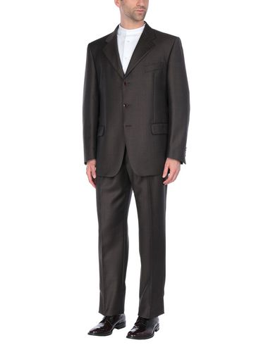 Фото - Мужской костюм JASPER REED темно-коричневого цвета