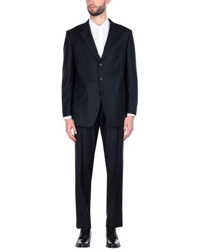 Фото - Мужской костюм JASPER REED темно-синего цвета