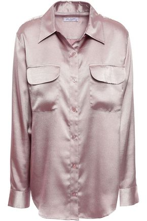 EQUIPMENT Hammered-satin shirt