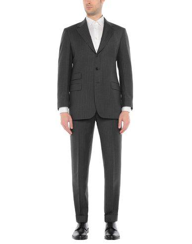 Фото - Мужской костюм JASPER REED свинцово-серого цвета
