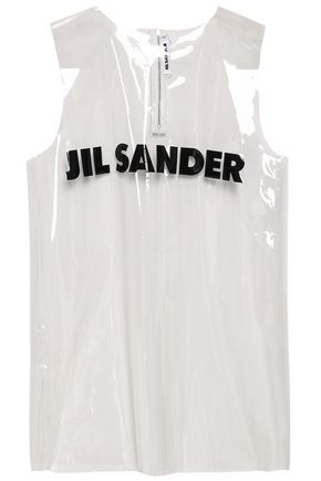 JIL SANDER Printed PVC tank