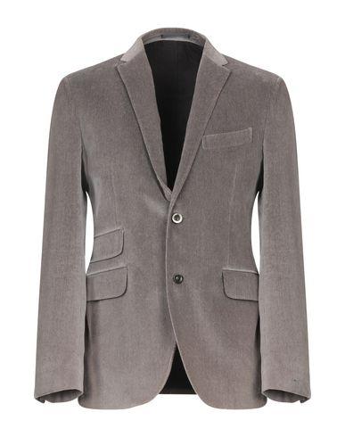 Фото - Мужской пиджак  цвет голубиный серый