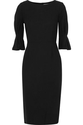 GOAT Evan wool-crepe dress