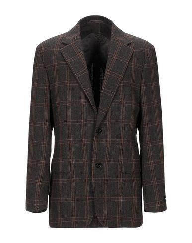 Фото - Мужской пиджак  темно-коричневого цвета