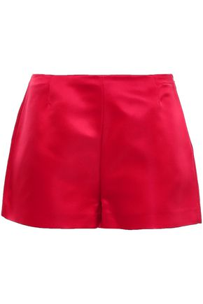 VALENTINO Silk-satin shorts