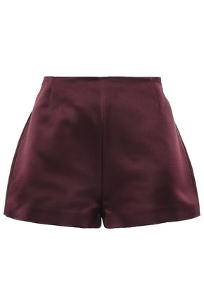 VALENTINO Silk-satin shorts