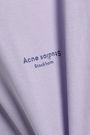 ACNE STUDIOS Printed French cotton-terry mini dress