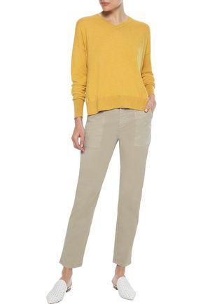IRIS & INK Nancy cotton-blend sweater