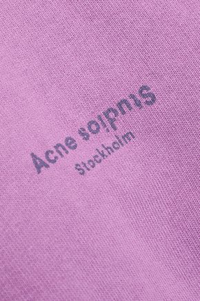 ACNE STUDIOS French cotton-terry hoodie