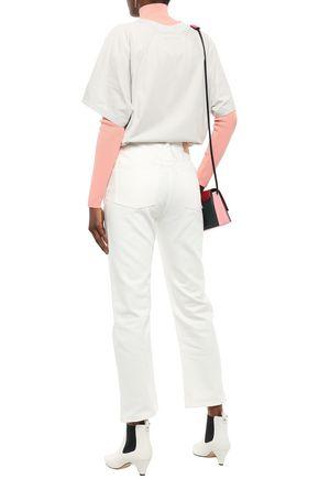 ACNE STUDIOS Oversized appliquéd cotton-jersey T-shirt