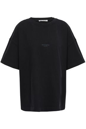 ACNE STUDIOS Stellie oversized printed cotton-jersey T-shirt