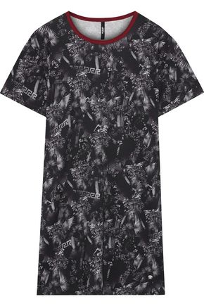 VERSUS VERSACE Printed stretch-cotton jersey T-shirt