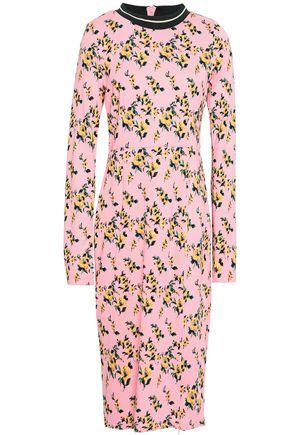 BAUM UND PFERDGARTEN Jaiden floral-print stretch-jersey midi dress