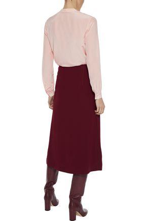 IRIS & INK Jorine silk crepe de chine blouse