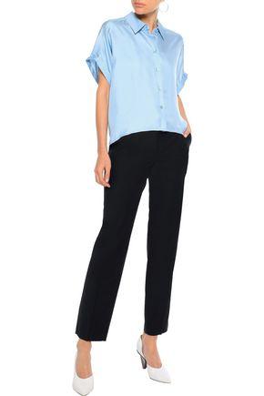 IRIS & INK Karin silk-satin shirt