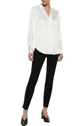 IRIS & INK Lova silk-satin shirt