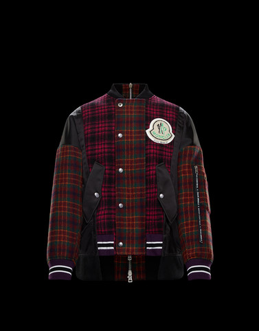SONNY Bordeaux Category Bomber Jacket