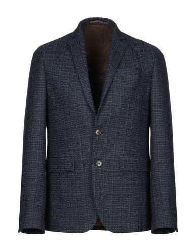 Фото - Мужской пиджак SAND COPENHAGEN темно-синего цвета