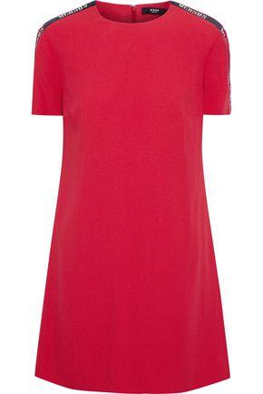 VERSUS VERSACE Embellished crepe mini dress