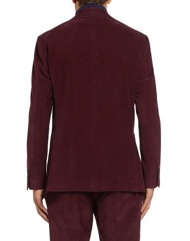 Фото 2 - Мужской пиджак  цвет баклажанный