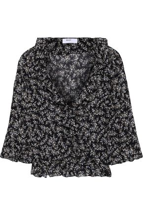 BAILEY 44 Extracurricular ruffle-trimmed floral-print georgette blouse