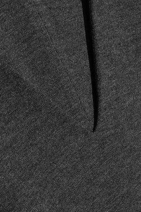BAILEY 44 Avalanche ruffled mélange stretch-jersey mini dress