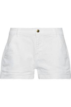FRAME Mitered denim shorts
