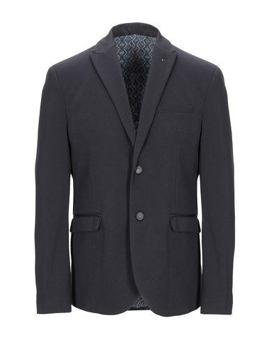 Фото - Мужской пиджак OFFICINA 36 темно-синего цвета