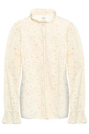 BA&SH Kenya broderie anglaise cotton shirt