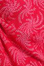 BA&SH Chik gathered printed voile blouse