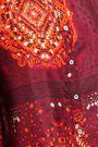 BA&SH Heelo printed silk crepe de chine shirt