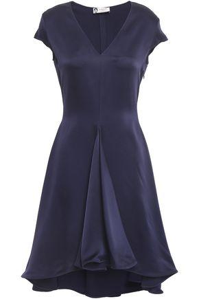 LANVIN Crepe-satin mini dress