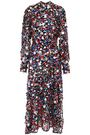 MSGM Sequined woven midi dress