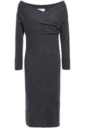 MICHELLE MASON Wool and cashmere-blend dress