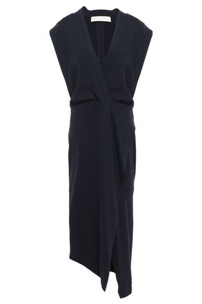 MICHELLE MASON Wrap-effect stretch-jersey midi dress