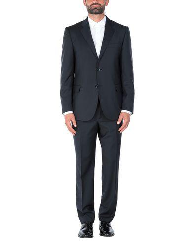 Фото - Мужской костюм MARZOTTO темно-синего цвета