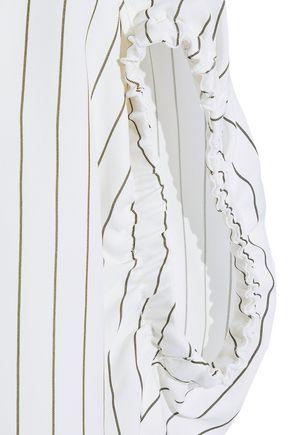 JASON WU Pinstriped poplin shirt