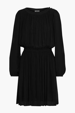 JASON WU Gathered georgette mini dress