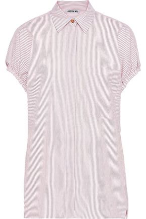 JASON WU Pinstriped poplin shirt