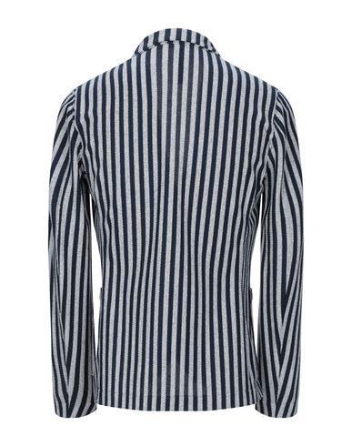 Фото 2 - Мужской пиджак HARRIS WHARF LONDON темно-синего цвета