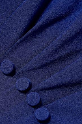GREY JASON WU Gathered silk-crepe top