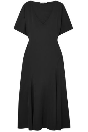 THE ROW Lucid flared stretch-jersey midi dress